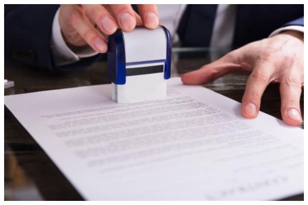 Печатка для документів