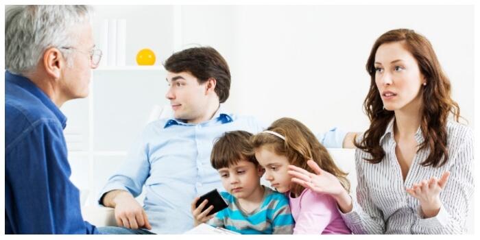Урегулирование семейного спора